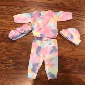 Baby steps matching set